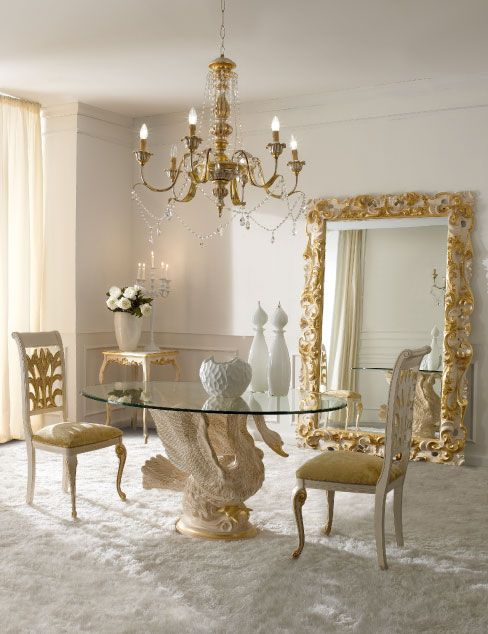 Italian Luxury Dining Room Wood Furniture Andrea Fanfani Italy Quot Cigno Quot Table Dekor Mobilya