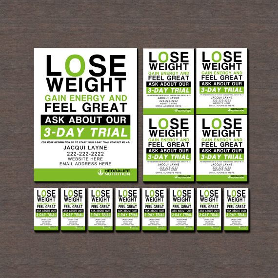 Herbalife Flyers And Business Cards by WackyJacquisDesigns on Etsy ...