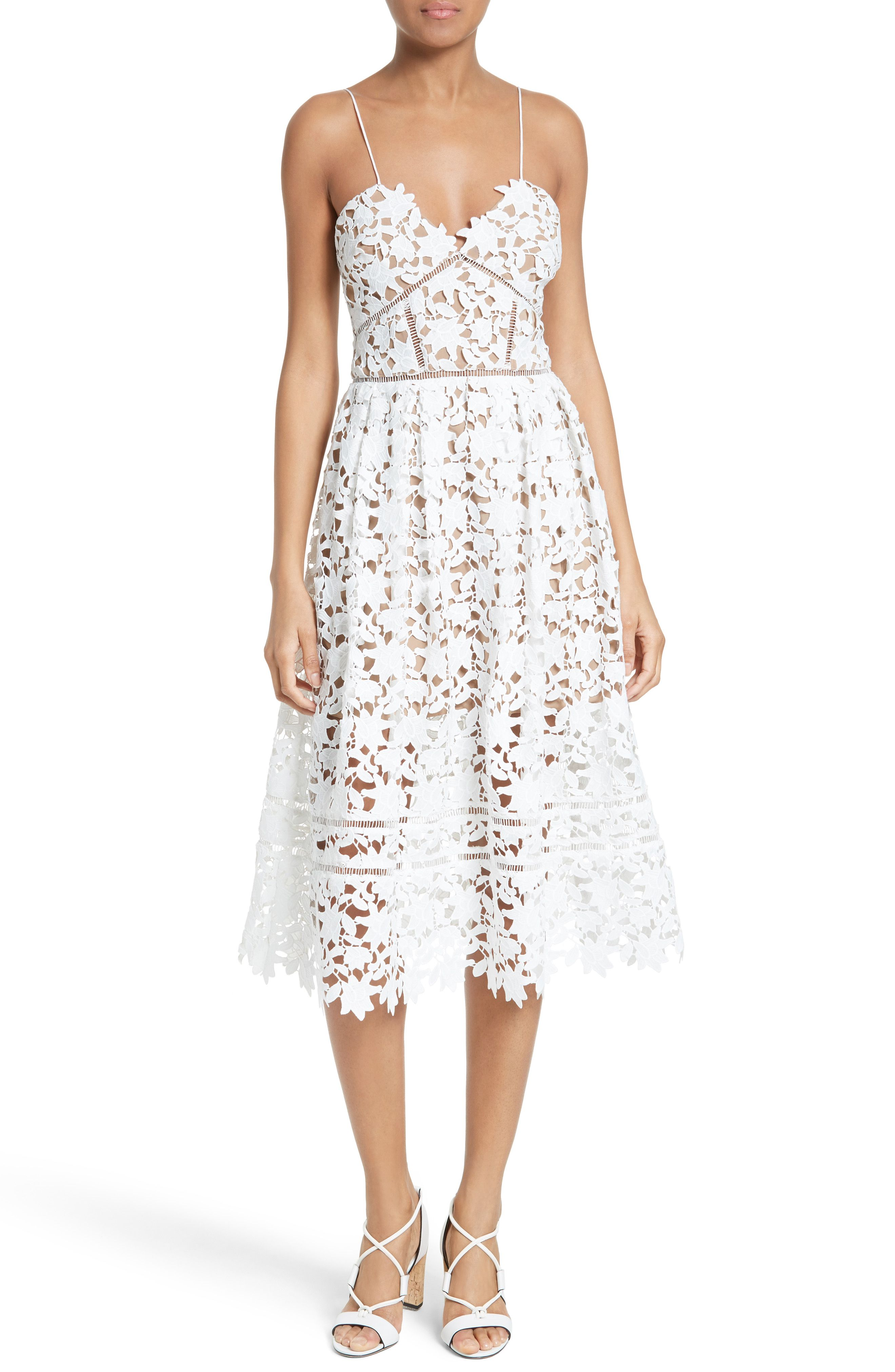 Best dress for wedding guest   Best White Lace Dresses from Nordstrom  Pinterest  White lace
