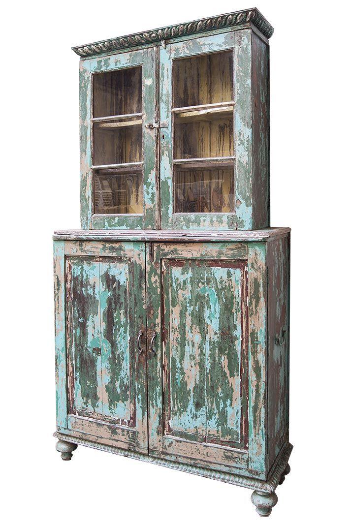 muebles antiguos con vitrina para interiorismo comercial | miss ... - Muebles Antiguos