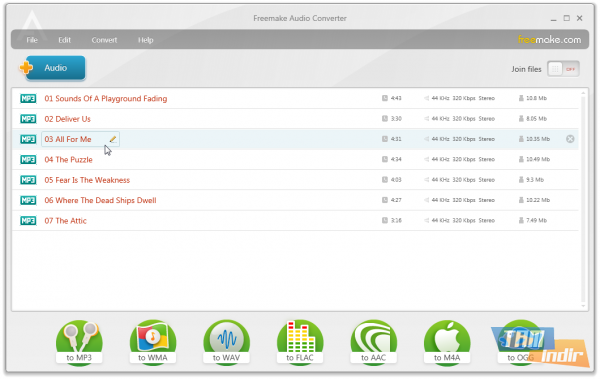 Freemake Free Audio Converter