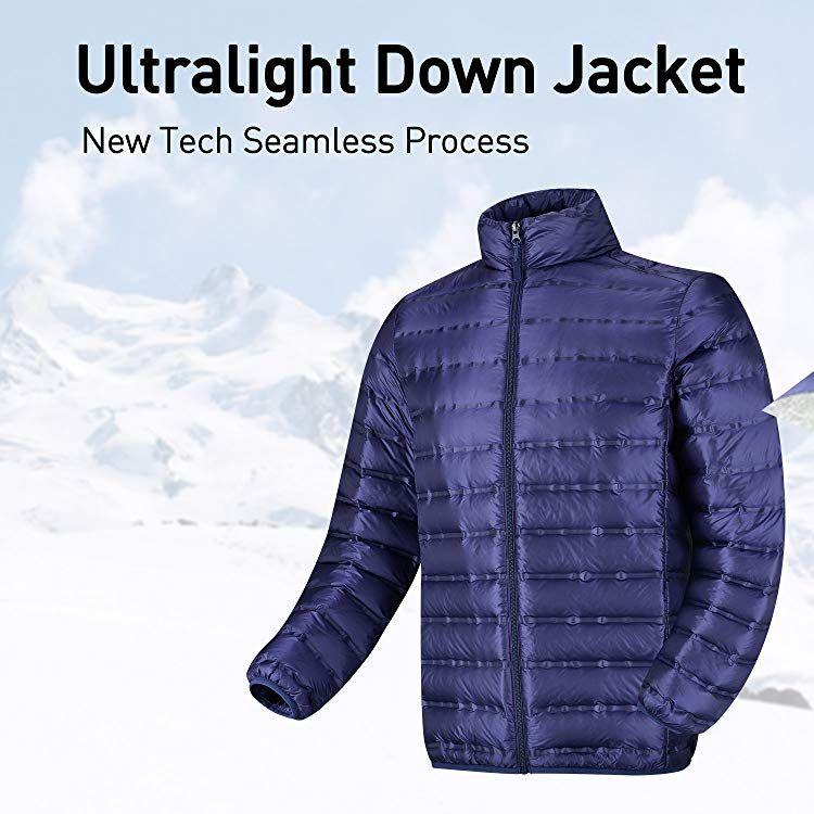 Lesmart Men S Ultra Light Down Jacket Mens Golf Outfit Jackets Down Jacket
