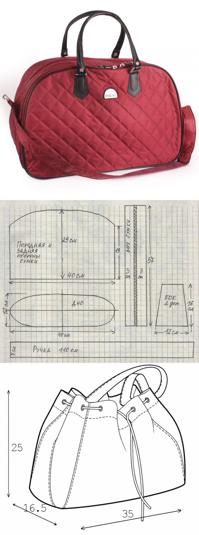 shoulder bag and backpack..♥ Deniz ♥ | Patrones | Pinterest ...