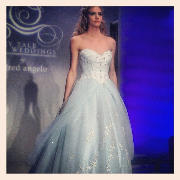 Alfred Angelo Style 205 Cinderella Size 10 Wedding Dress: New York Bridal Runway Shows: 10/12 Recap