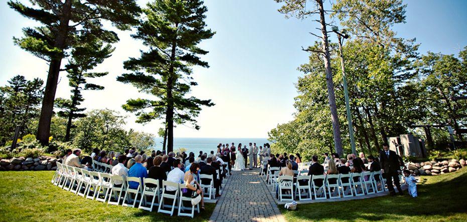 Belle Isle Conservatory Wedding Ceremony