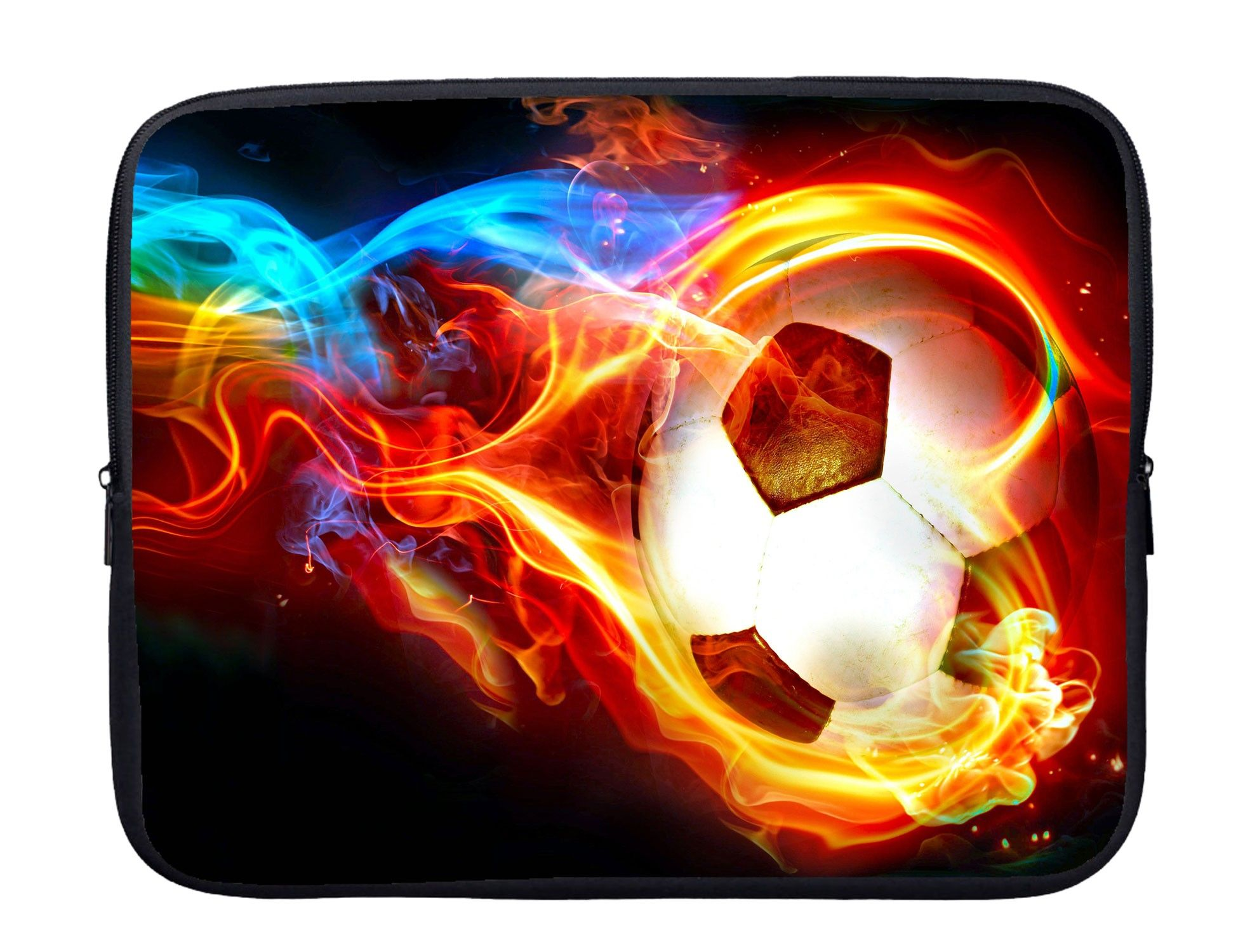 Soccer Laptop Sleeve With Webbing Handles Football Wallpaper Soccer Ball Soccer Pictures