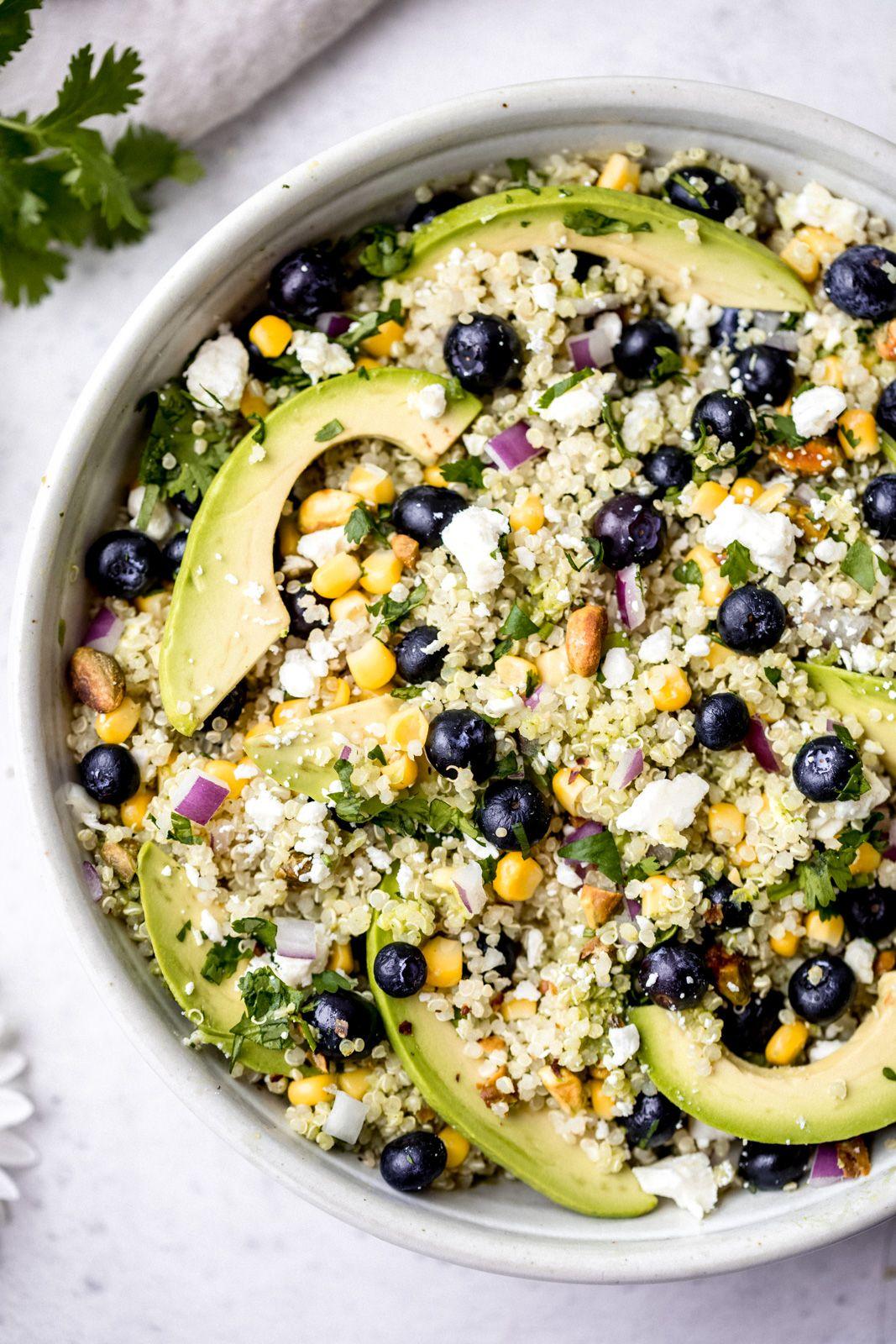 Avocado Blueberry Quinoa Salad images