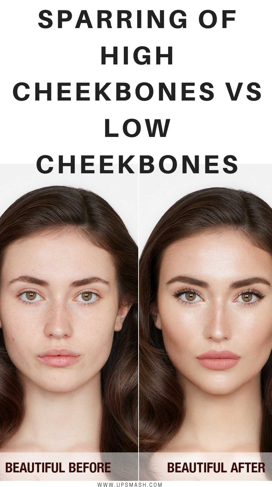 Sparring Of High Cheekbones Vs Low Cheekbones High Cheekbones Cheekbones Contour Makeup