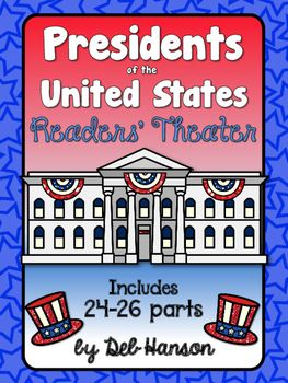 Kids love Readers' Theater, and here's one you can do especially on Presidents Day, or any day during the school year!! It is written for 24 students if you want to do it as a whole class activity, but the parts can easily be divided among a smaller group of students.  The main idea of the Reader's Theater is to get students interested in American history. Most of the facts in this reader's theater are those little known facts that are very interesting!