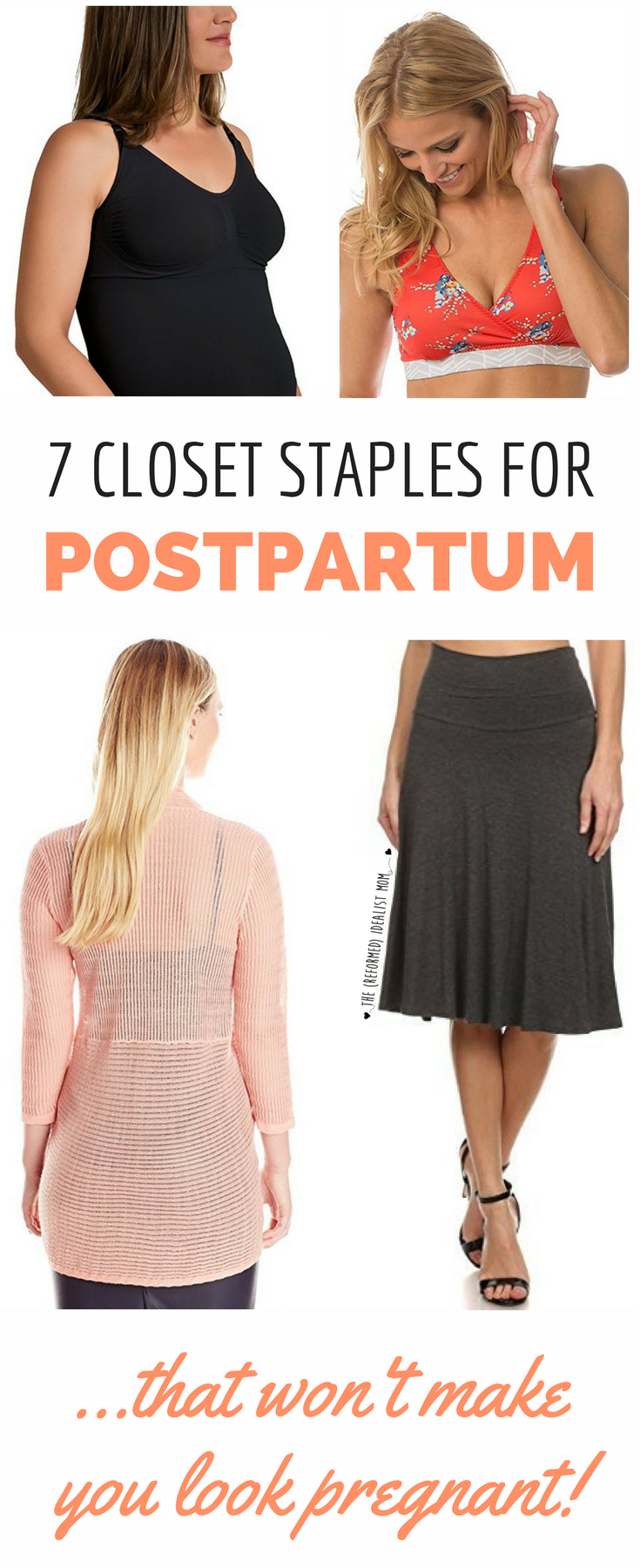 c22f292e0002 Every postpartum new mom needs this list! All the clothes you need in your  closet post-baby. What to wear, what not to wear, and how you can combine  fashion ...