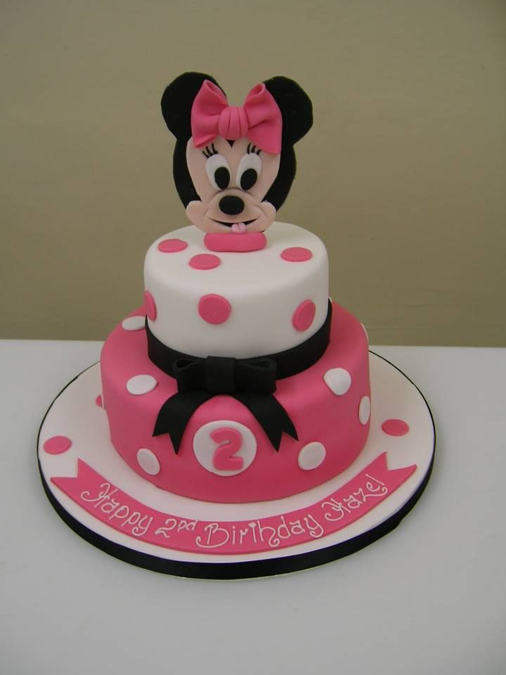 Minnie Mouse cake cakedesign Birthdaycake Emery 2nd BD