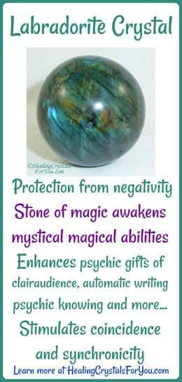 Labradorite Crystal Meaning & Use: Want To Awaken Your Magical Powers?
