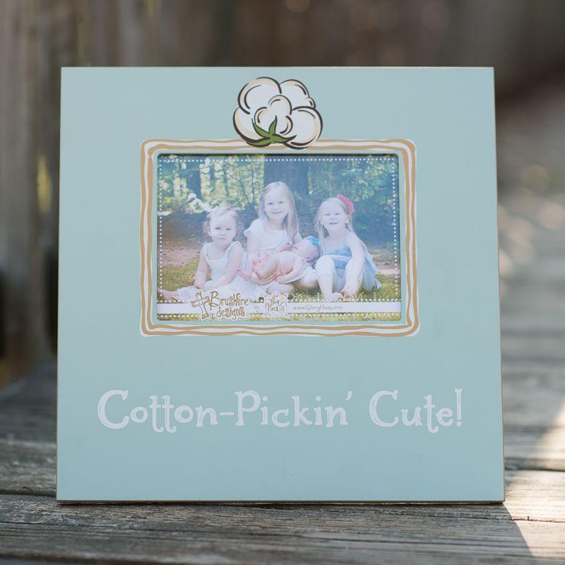 Glory Haus - Cotton-Pickin Cute Frame11.75x11.75   Crafts   Pinterest