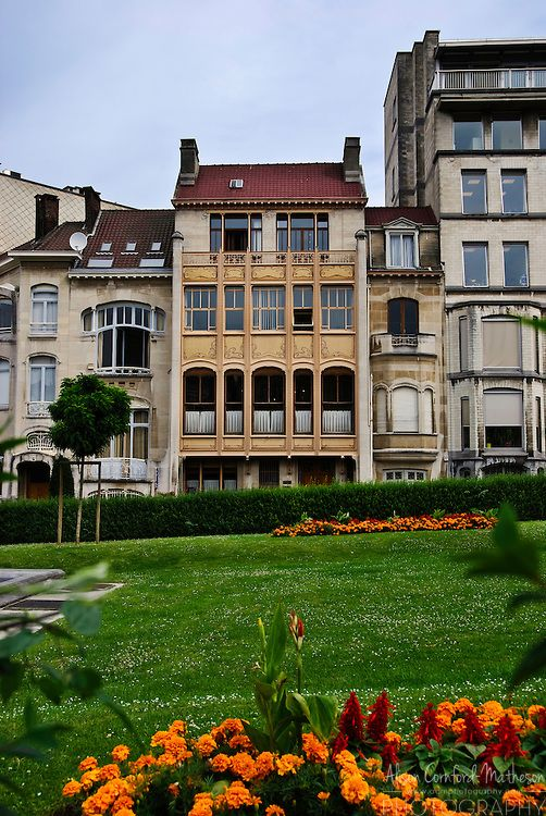Strange Major Town Houses Of The Architect Victor Horta Brussels Download Free Architecture Designs Rallybritishbridgeorg