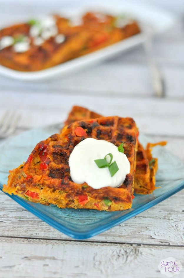 Paleo Southwestern Waffles | Community Post: 25 Delicious Gluten-Free Recipes To Make This Cinco De Mayo