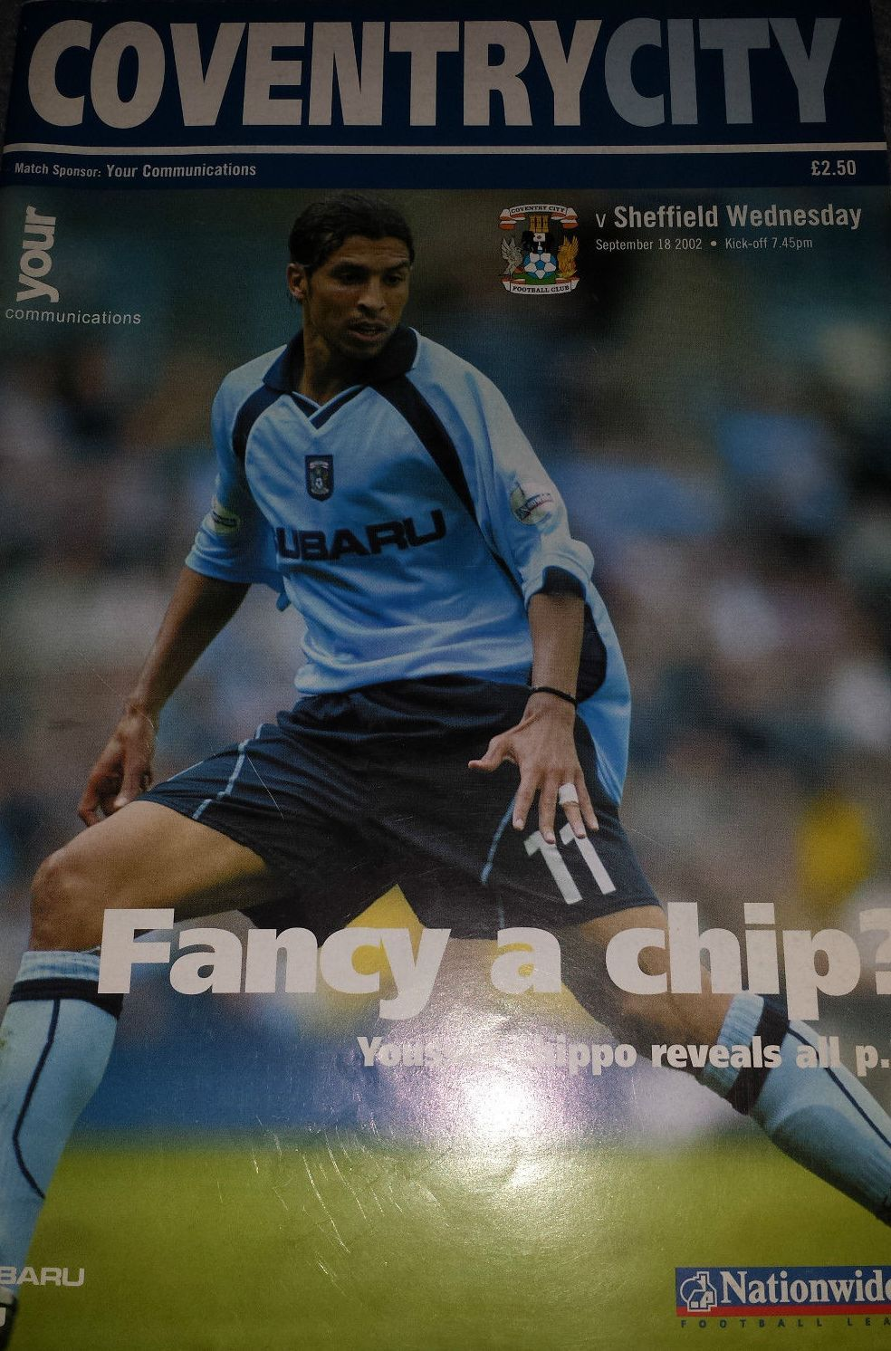 Pin on Coventry City FC 200203 Home Programmes