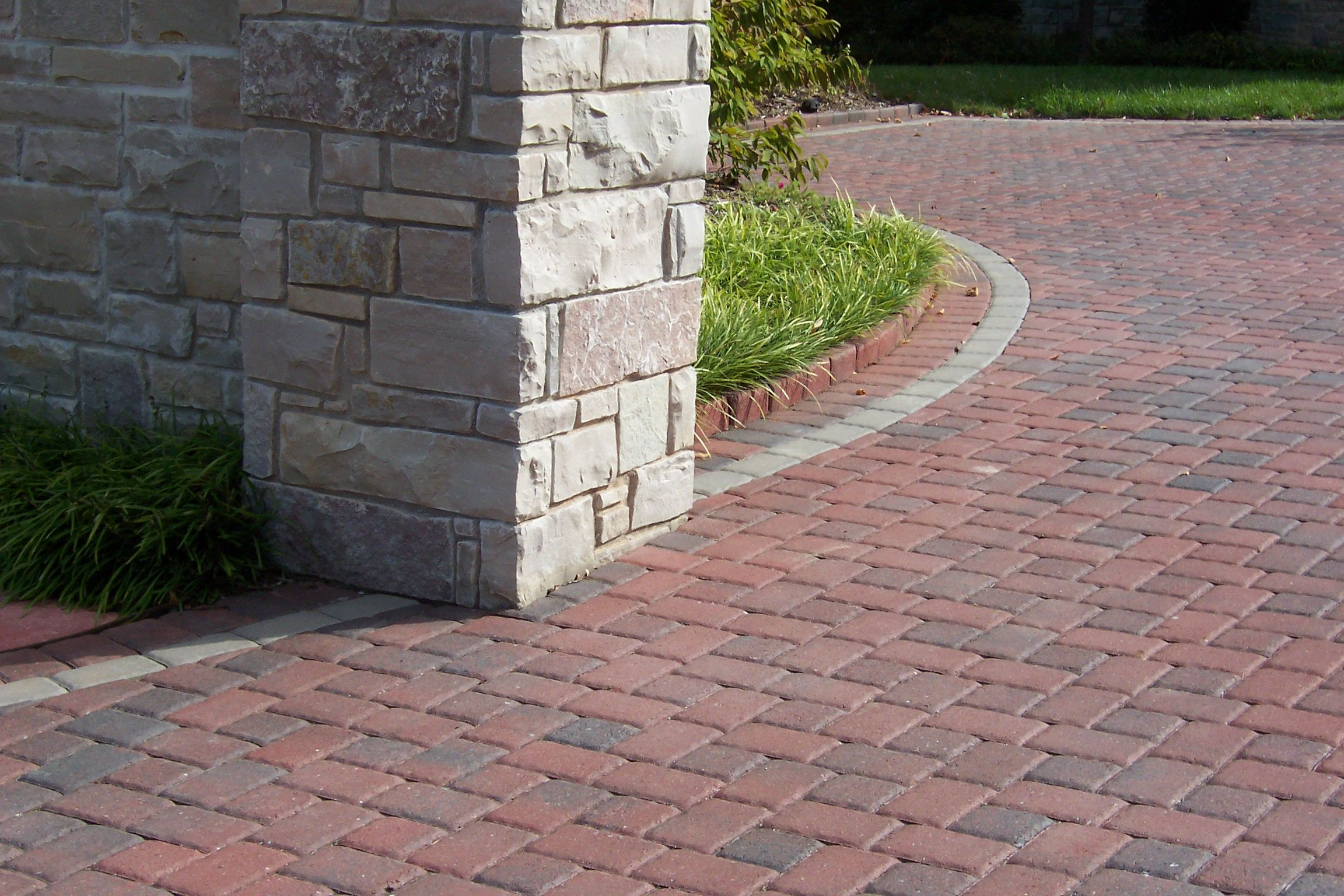 Interlocking Brick Pavers Romanstone Interlocking Concrete Pavers.cobble 6X6 And 6X9