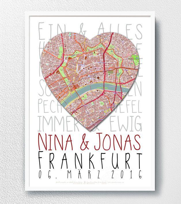 Hochzeitsgeschenk Lieblingsmensch Poster Sprüche