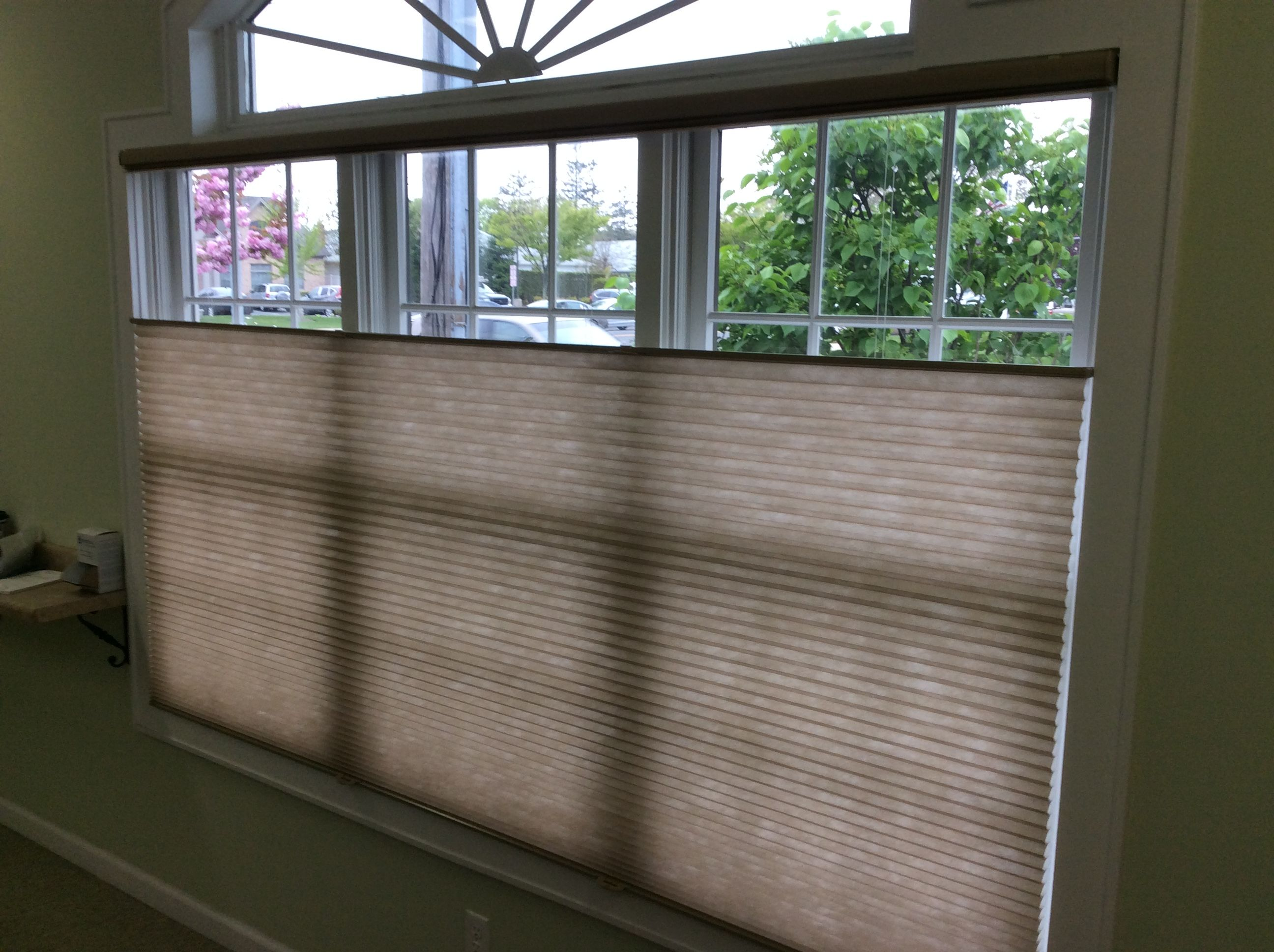 East End Blinds Installed These Hunter Douglas Duette Honeycomb Shades Cellular