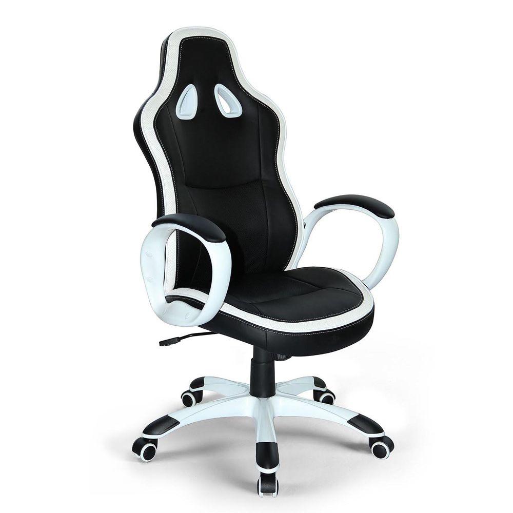 Simili Cuir Ergonomique Sportif Gamer Chaise De Fauteuil Bureau tQrdxhsC