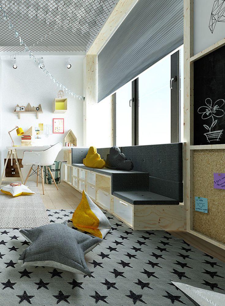 Eine Wand zum Pinnen Schlafzimmer für teenager, Kinder