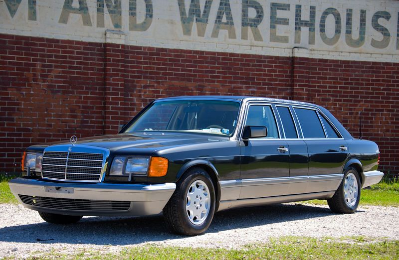 1987 Mercedes Benz 500 Series 560 Sel Limo