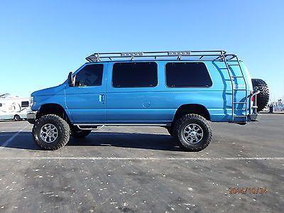 1996 Ford E350 12 Passenger Van 4x4 7 3 Diesel 4x4 Van Vans 12
