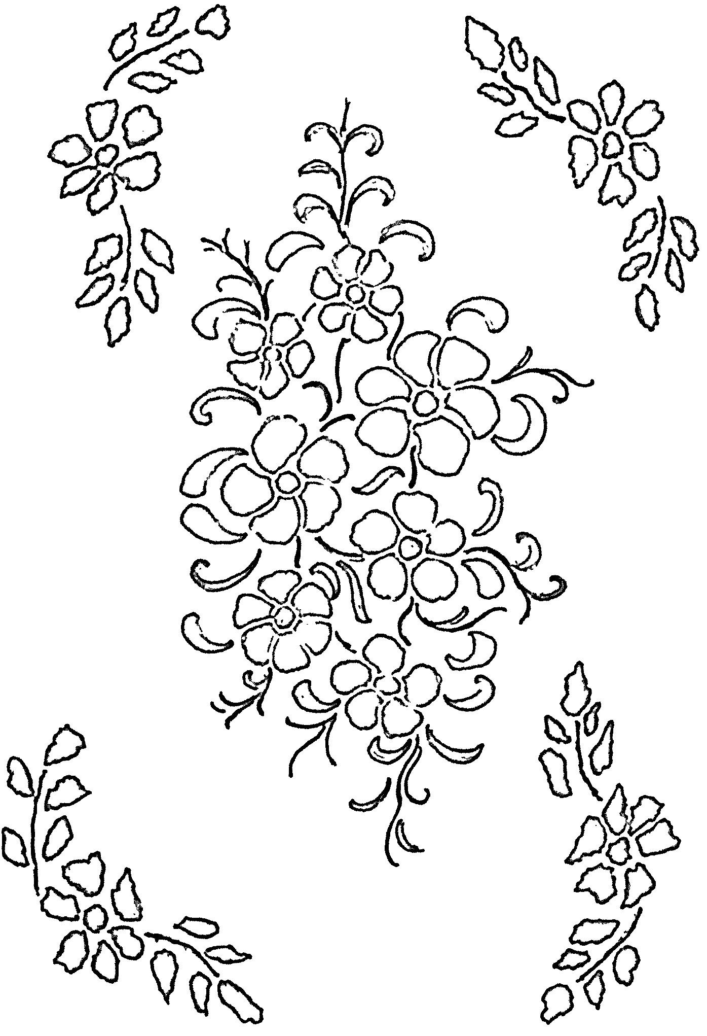 Flower Free Free Glass Painting Patterns On This Site Glass