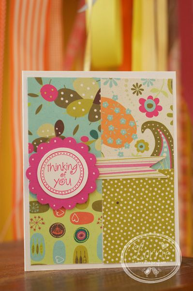 Thank You Card Or Birthday Card Any Occasion Cardscrapbooking