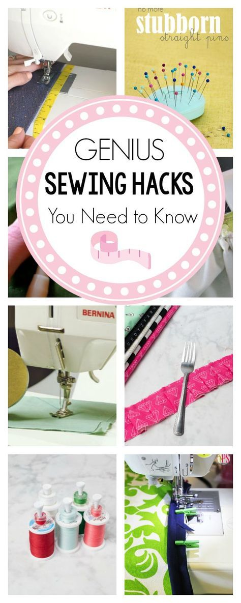 11 Sewing Hacks You Need to Know