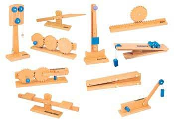 Wooden Simple Machines Set Of 10 Themes Simple