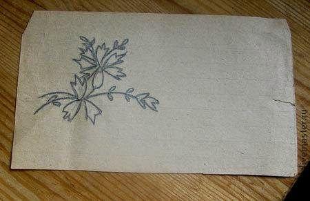 Embroider Cornflower