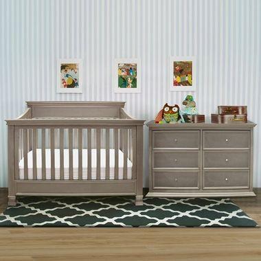 Charmant Million Dollar Baby 3 Piece Nursery Set   Foothill 4 In 1 Convertible Crib