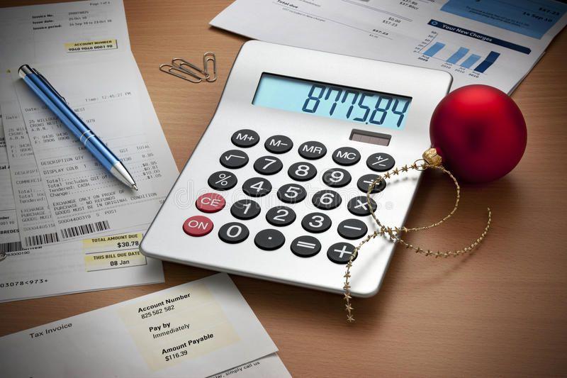 Christmas Expenses Bills Calculator