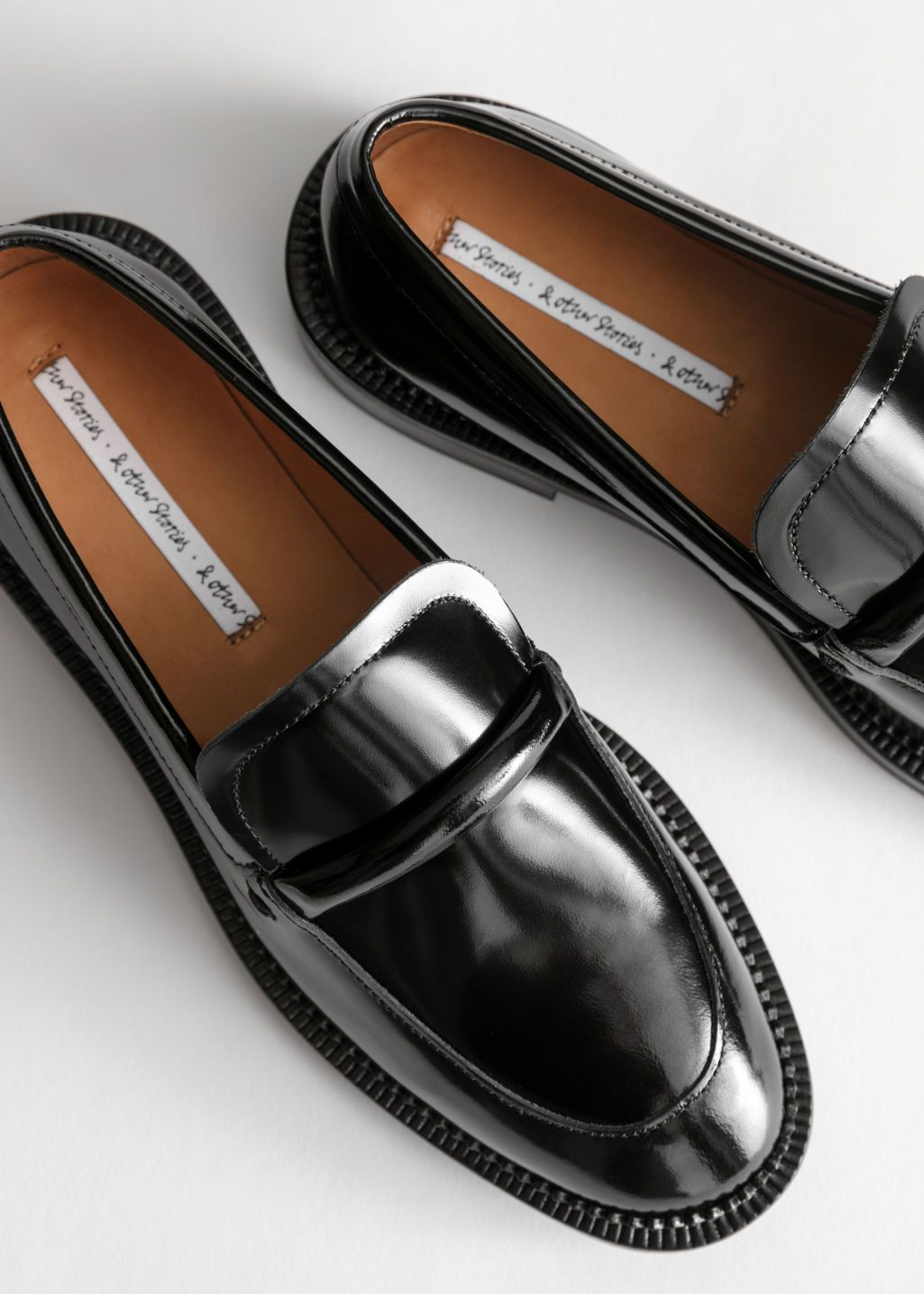 Leather Penny Loafers Loafers Penny Loafers Black Loafers Women [ 1435 x 1025 Pixel ]
