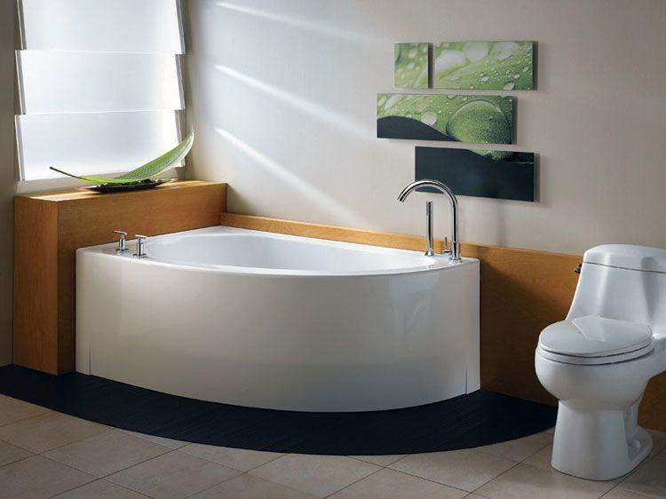 Vasca Da Bagno Angolare Piccola : 50 bellissime vasche da bagno angolari moderne bagno pinterest