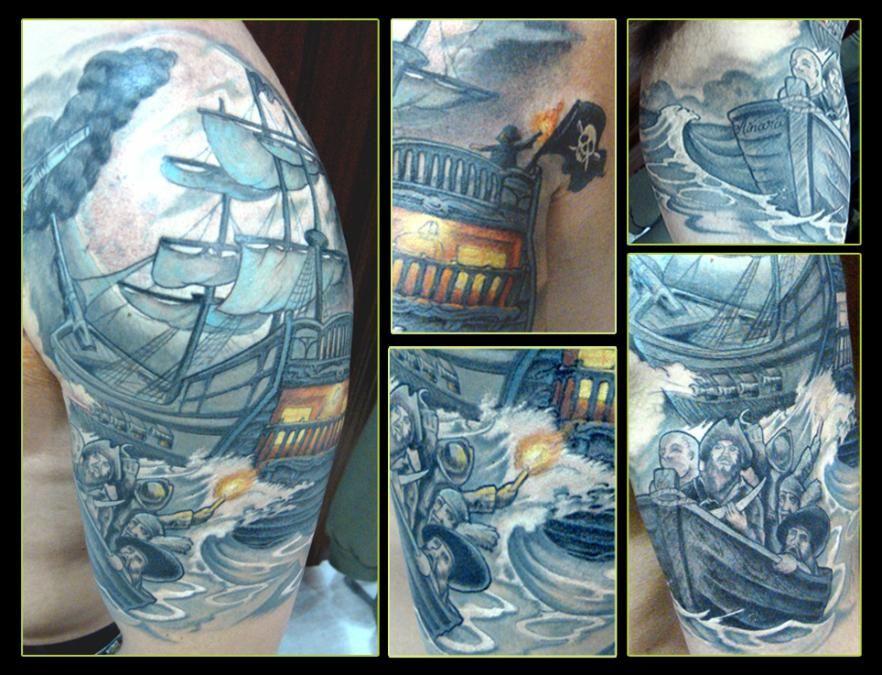 Humanfly tatuajes