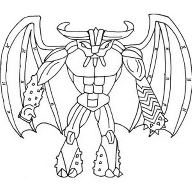 Gormiti Coloring pages for kids. Printable. Online Coloring. 11 ...