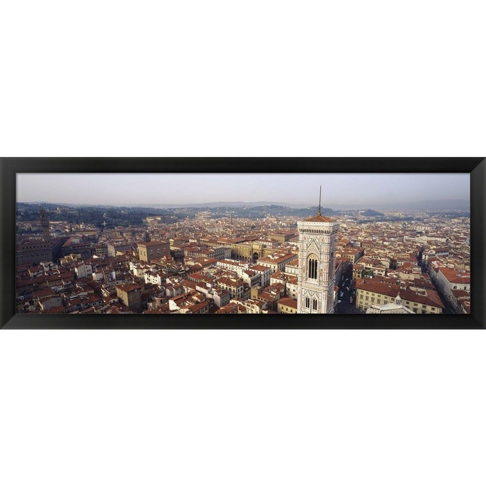 'Florence Italy' Framed Panoramic Photo
