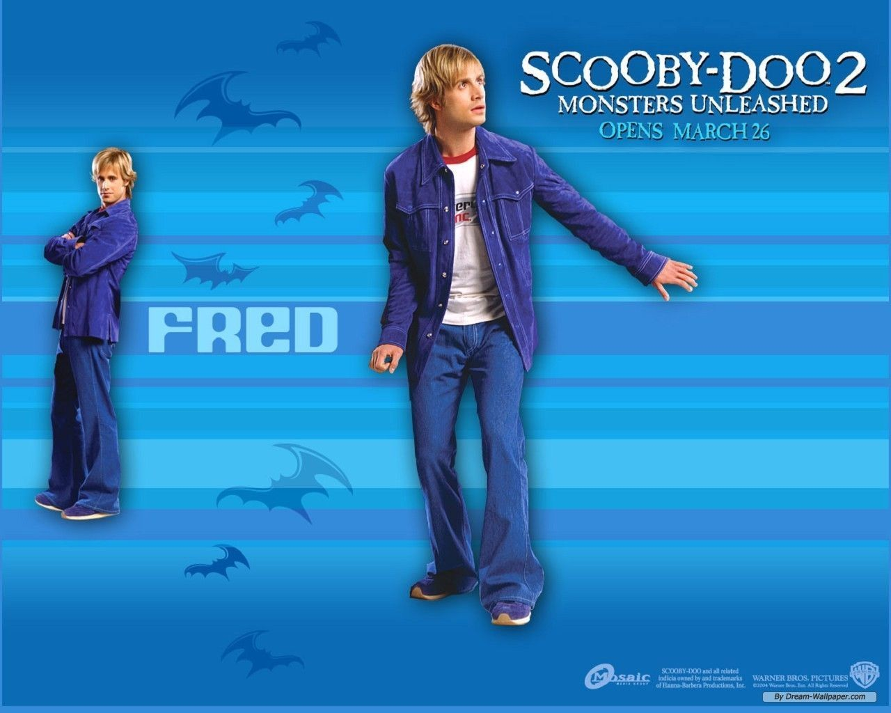 Free Wallpaper Free Movie Wallpaper Scoo Doo 2 Inside The Brilliant Scooby Doo Monsters Unleashed Wallp In 2020 Scooby Doo Movie Scooby Doo Mystery Inc Fred Scooby Doo