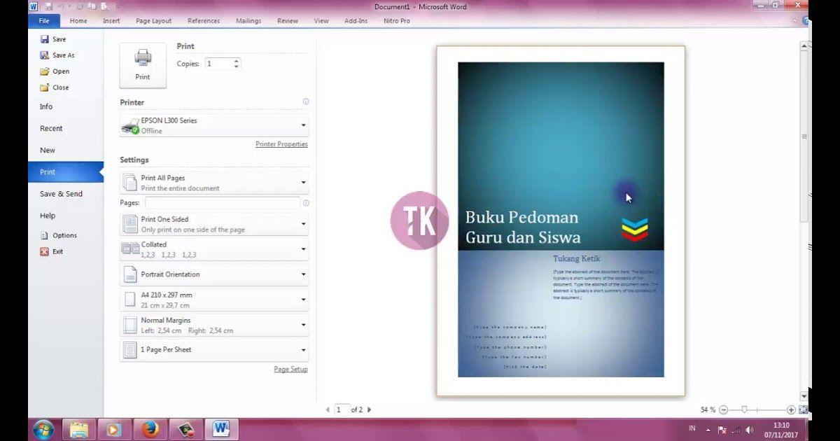26 Download Background Cover Buku Keren Cara Membuat Cover Buku Dengan Microsoft Word In 2020 Free Book Cover Design Book Cover Template Simple Powerpoint Templates