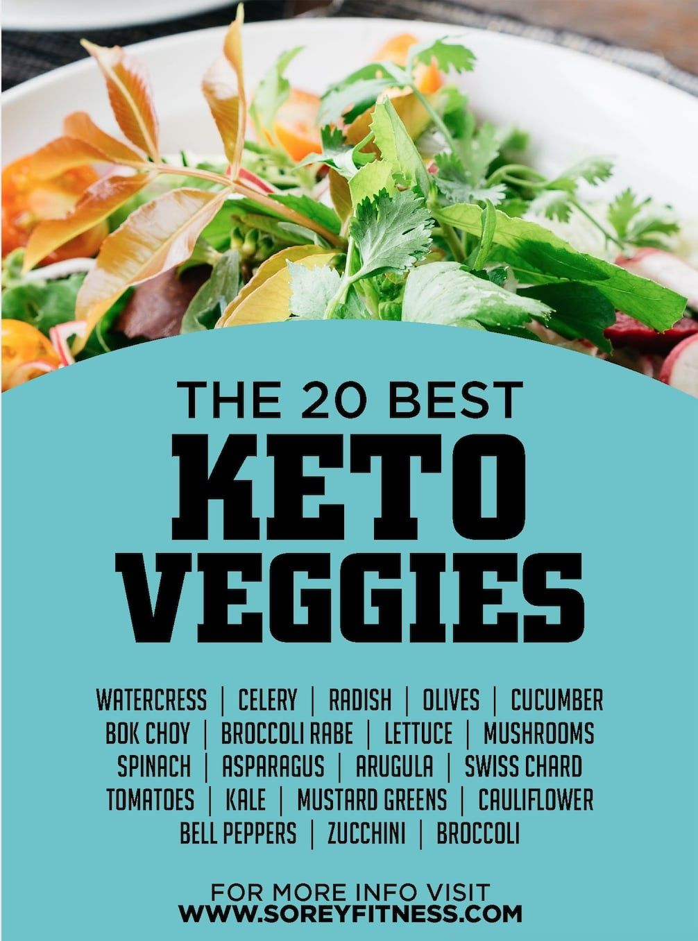20 Best Keto Veggies List & Which Vegetables to Avoid on