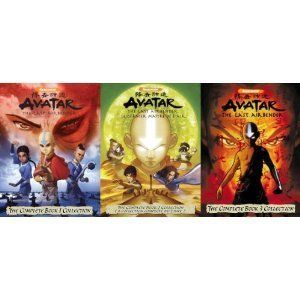 Avatar The Last Airbender Complete Collection 1 2 3 Dvd Series Box