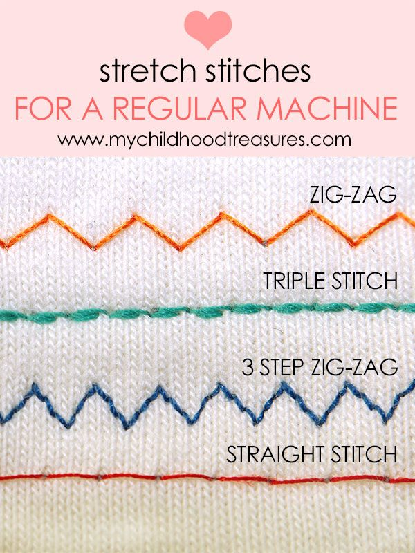 How To Sew Stretch Fabric Sewing Knits Without A Serger Best Amazing Sewing Machine Stretch Fabric