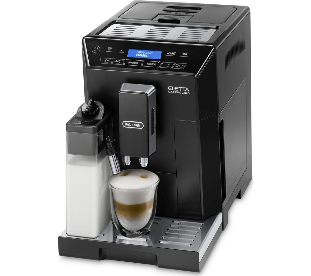 Buy A Delonghi Eletta Cappuccino Ecam44 660 B Bean To Cup Coffee Machine Online At Unbeatable Prices By Uk S Coffee Maker Cappuccino Machine Cappuccino Coffee