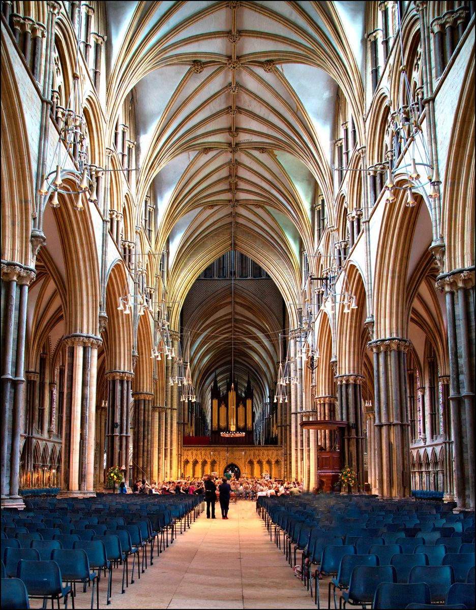 The Nave Lincoln Cathedral.jpg | Lincoln cathedral, Cathedral ...