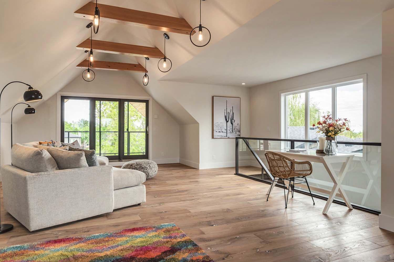 Calgary Home Radiates With Fresh Modern Farmhouse Style Home Modern Farmhouse Style Modern Farmhouse