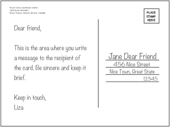 Hugedomains Com Postcard Examples Stationery Design Inspiration Postcard