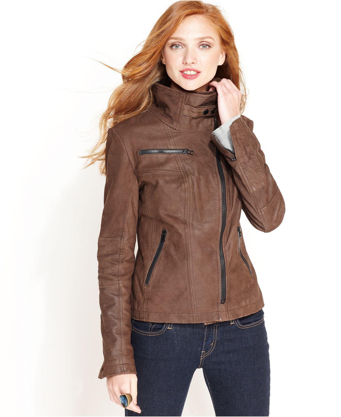 Buffalo David Bitton Jacket Leather Motorcycle Juniors Coats Macy S Jackets Coats For Women Leather Jacket [ 1616 x 1320 Pixel ]