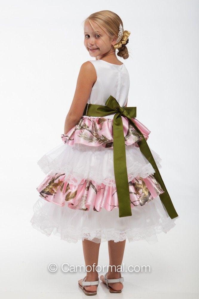 Camouflage flower girl dresses kids camo girls 5601 camouflage flower girl dresses kids camo girls 5601 lacey ruffle and lace flower girl dress mightylinksfo